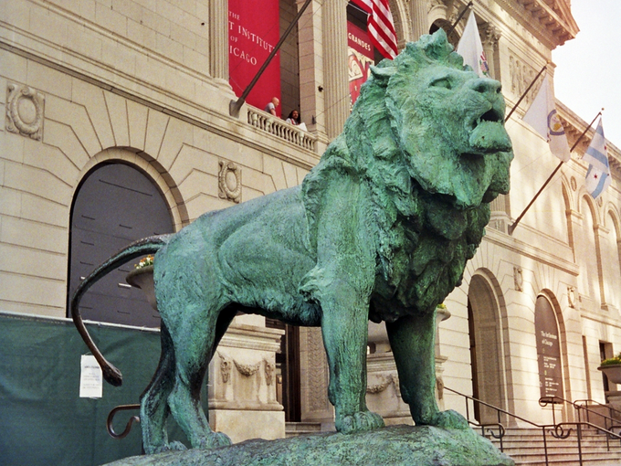 art-institute-lion